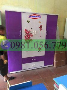 Tủ nhựa treo quần áo VTL04_03