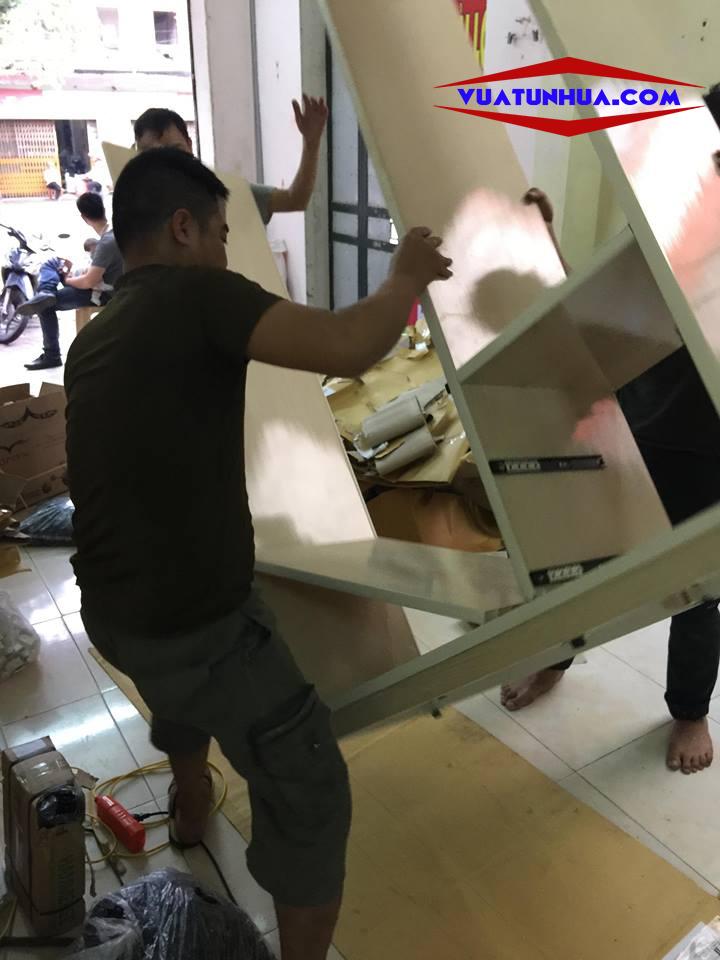 các bước lắp đặt tủ nhựa Đài Loan