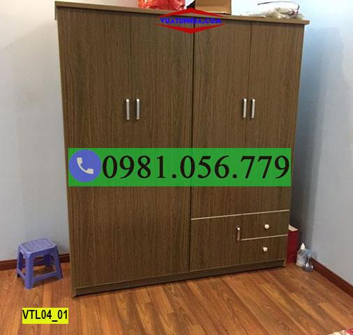 Kích thước tiêu chuẩn của tủ nhựa đựng quần áo Đài Loan hiện nay