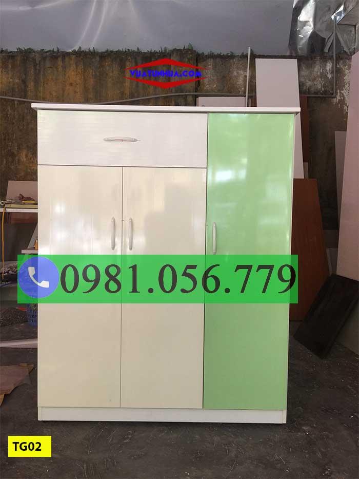 TG02 - Mẫu tủ đựng dày, dép hiện đại nhất thị trường