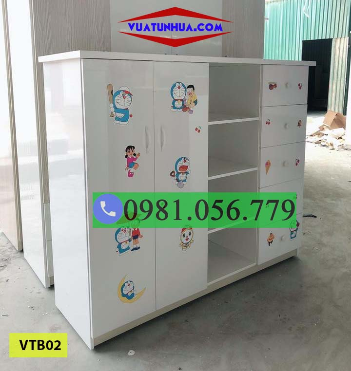 tủ nhựa quần áo trẻ em VTB02