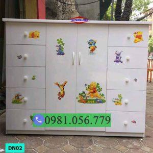 Tủ nhựa Đài Loan đa năng nhiều ngăn kéo DN02