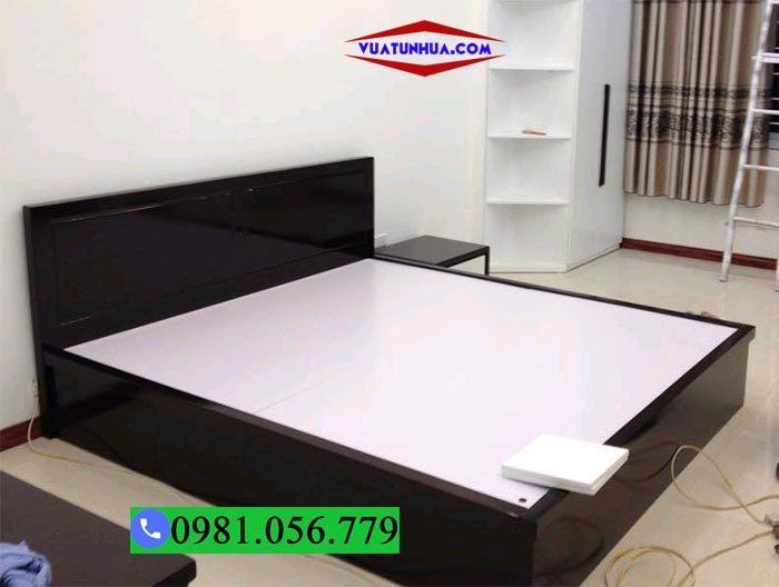 Giường ngủ nhựa Đài Loan kiểu bệt GN05