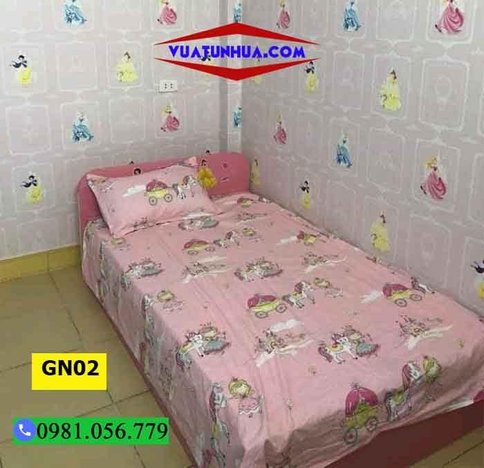 Giường ngủ cho bé bằng nhựa kiểu bệt GN02
