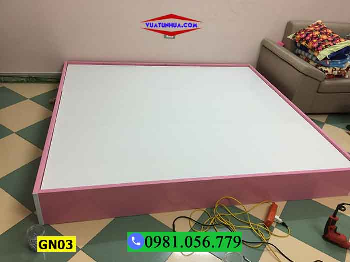 Giường ngủ nhựa Đài Loan không tựa GN03