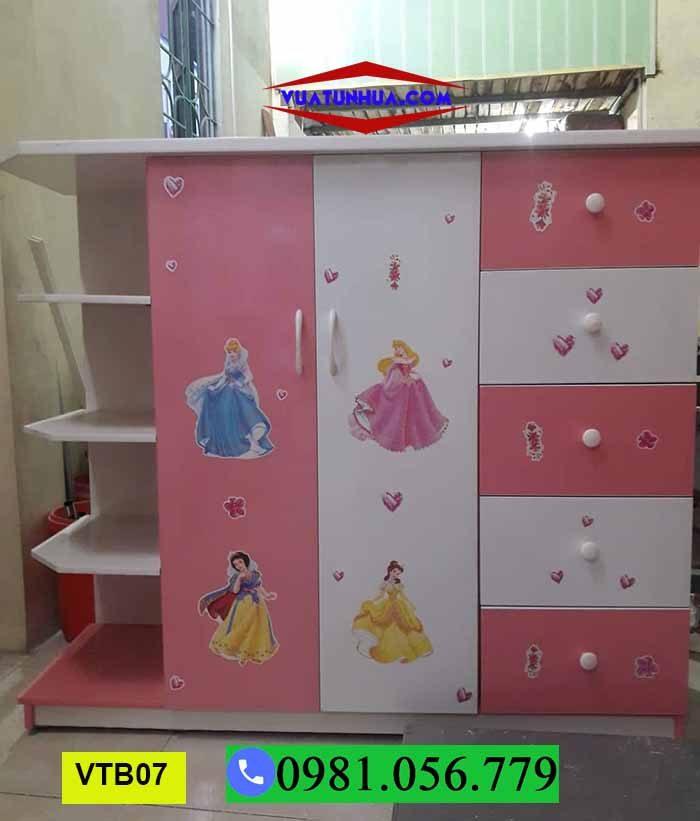 tủ nhựa Đài Loan cao cấp cho trẻ em