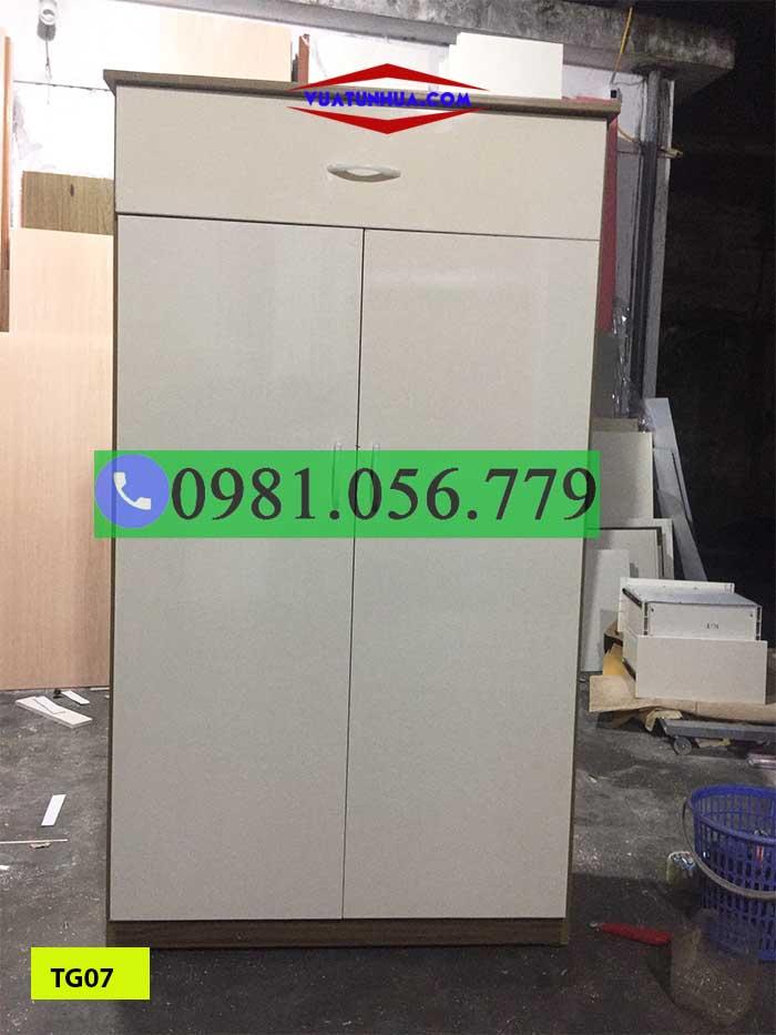 Tủ nhựa đựng giầy dép 2 cánh 7 tầng TG07