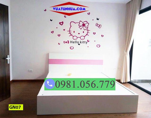 Giường ngủ nhựa Đài Loan trẻ em GN07