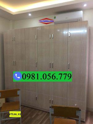 Tủ nhựa quần áo 6 cánh 4 buồng VTL06_03