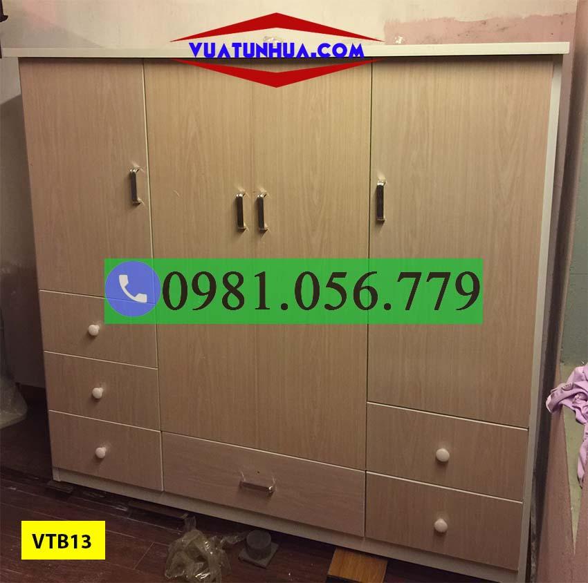 Tủ nhựa đựng quần áo trẻ em VTB13