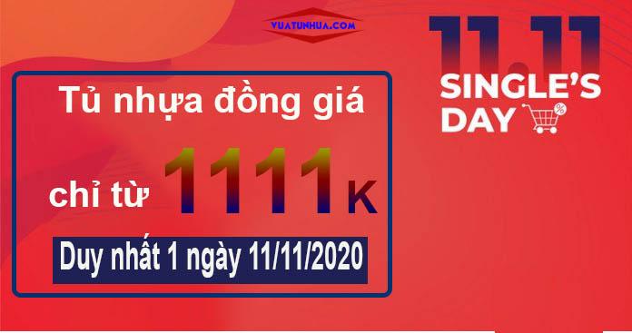 Mừng Ngày độc thân 11.11